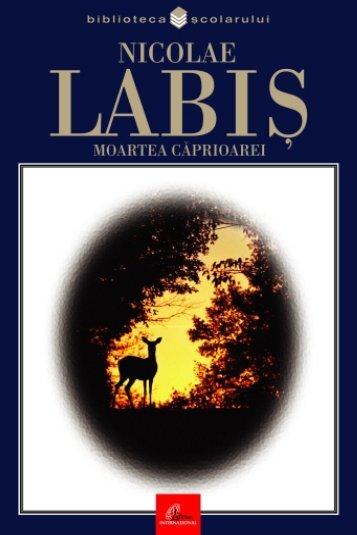 Labis Nicolae - Moartea caprioarei (Tabel cron).pdf
