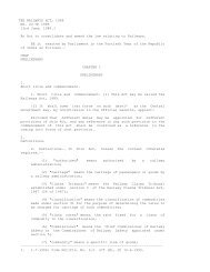 THE RAILWAYS ACT, 1989 NO. 24 OF 1989 - Railway Claims ...