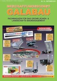 1 Jahr Laufzeit - Beschaffungsdienst GaLaBau