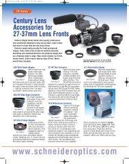 1-800-228-1254 - Schneider Optics
