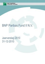 BNP Paribas Fund II N.V. - BNP Paribas Investment Partners