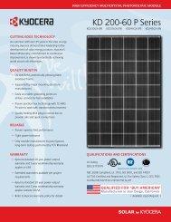 KD 200-60 P Series - Atlasta Solar