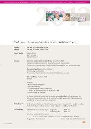 workshop Praxis sierning12.FH11 - Ärztegesellschaft für ...