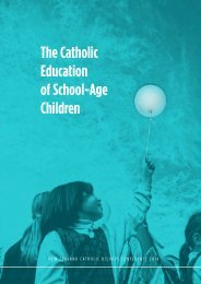 Catholic education of school-age children - electronic version ISBN 978-0-473-27170-1