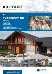 Tvarovky KB Blok - Katalog - STAVOMARKET