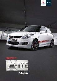 Swift X-ITE - Autohaus Schulze-Elberg