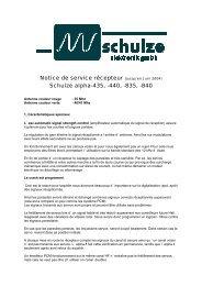 pour bateaux et voitures - Schulze Elektronik GmbH