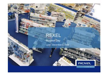 Investor day presentation - Rexel