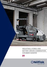 INDUSTRIAL HYBRID AND BATTeRY DRIveN ... - Cleaning