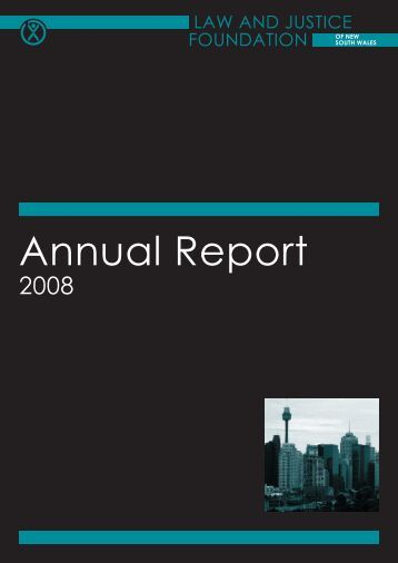 Annual Report - Law and Justice Foundation