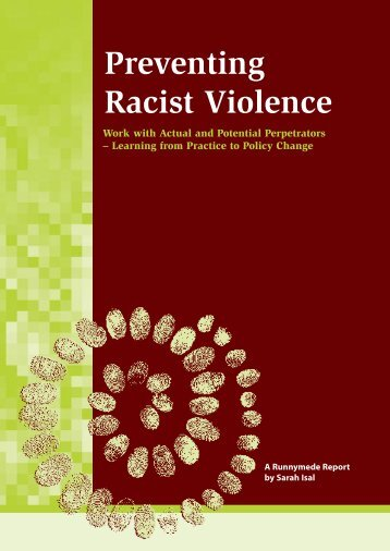 Preventing Racist Violence - Runnymede Trust
