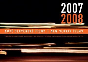 Nové slovenské filmy 2007 -  AIC