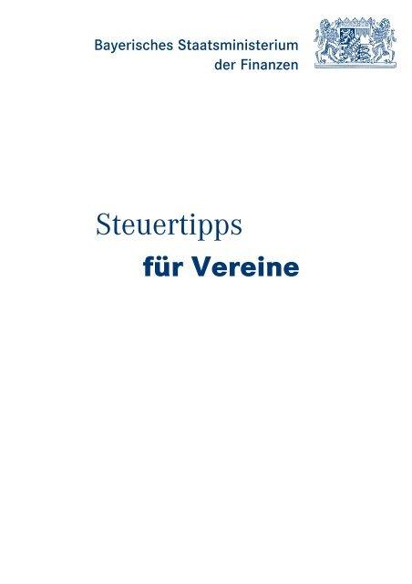 Steuertipps für Vereine - Augsburg engagiert