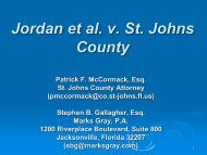 Degraded County Roads - Florida Association of Counties
