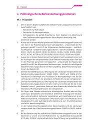 19 Pathologische Gebührenordnungspositionen