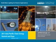 Solid-State Lighting for Exterior Applications