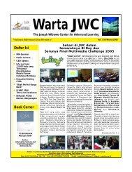 Warta JWC (Mar'06).FH11 - binus university
