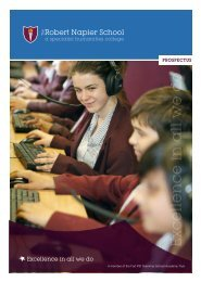 Prospectus 2012.pdf - The Robert Napier School