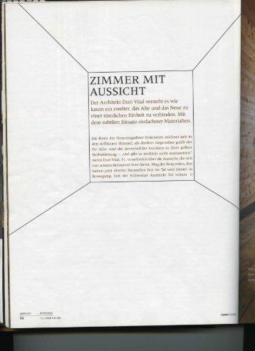 ZIMMER MIT - Duri Vital