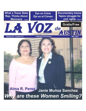 La Voz de Austin May, 2007.pmd - La Voz Newspapers