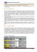 Compte-rendu de la réunion du Conseil d'Administration - SFA - Page 6