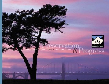 Fiscal Year 2002 Annual Report (with Audited ... - Presidio Trust