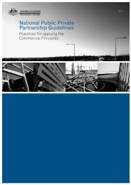 National Public Private Partnership Guidelines - Infrastructure ...