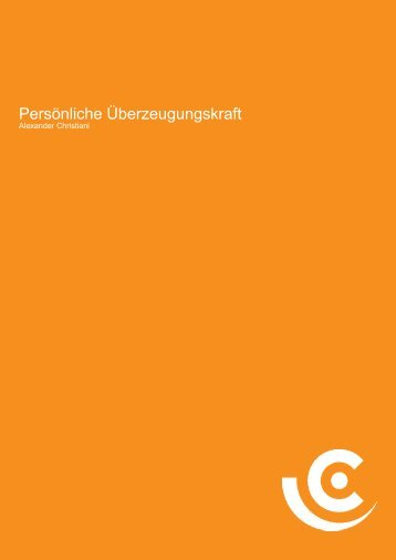 Weiterlesen - Christiani Consulting