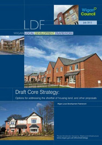 Options for addressing the shortfall of housing land ... - Wigan Council