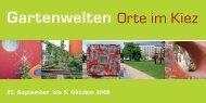 Gartenwelten - bdla Berlin/Brandenburg
