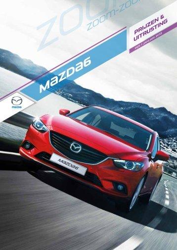 Prijslijst Mazda 6 - Knoop