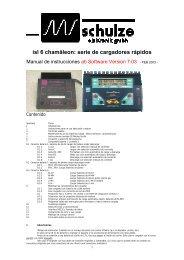 isl 6 chamäleon - Schulze Elektronik GmbH
