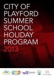 NSS School Holiday Program - City of Playford