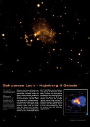 Schwarzes Loch – Holmberg II Galaxie - Carl Zeiss