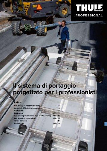 Scarica la Brochure degli Accessori Thule Professional in ... - Daihatsu