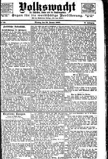 Ausgabe 18 vom 22.01.1900