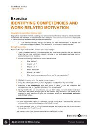 17. Ejercicio de identificacion de competencias y motivaciones ...
