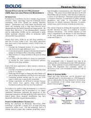 Phenotype MicroArrays - Biolog Inc.
