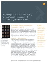 RFID Reduces the Cost & Complexity of IT Asset Management