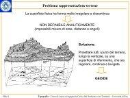 Geodesia - Dipartimento di Ingegneria Civile