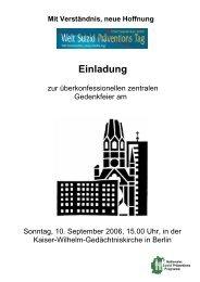 Die Einladung können Sie hier herunterladen. - Berliner Bündnis ...