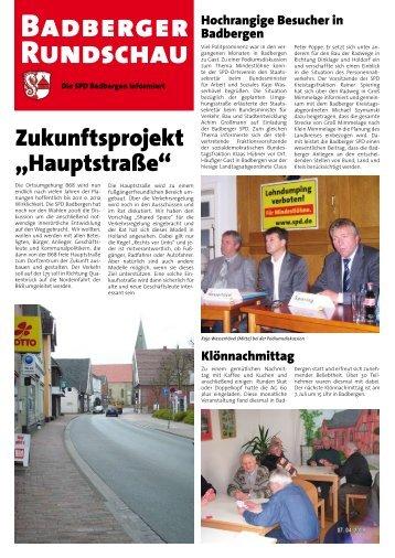 01.07.2008 - SPD Artland