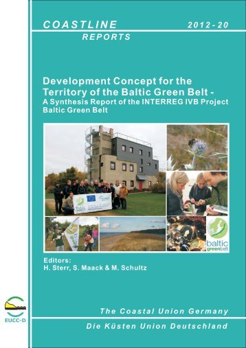 Development Concept for the Territory of the Baltic Green Belt