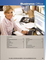 Business Office Catalog - Reynolds and Reynolds