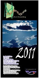 Ferienbörse 2011 Einzel - Jugendserver Niedersachsen