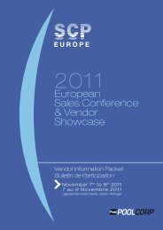 European Sales Conference & Vendor Showcase