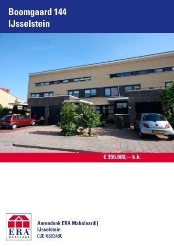 Boomgaard 144 IJsselstein - over Aarendonk