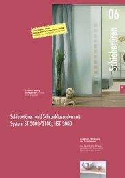 ST 2000/2100 - Glas und Spiegel Shop