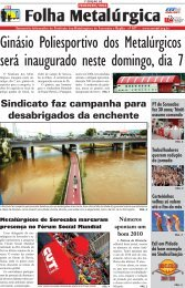 Folha Metalúrgica - CNM/CUT
