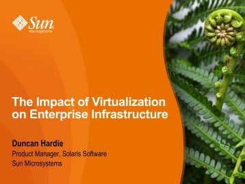 The Impact of Virtualization on Enterprise Infrastructure - Profoss